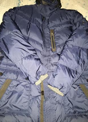 Пуховик мужской куртка пуховая зимняя bogner.