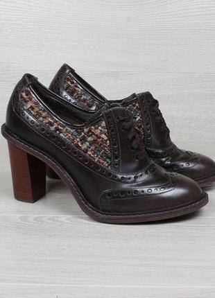 Женские туфли на каблуке clarks оригинал, размер 38 - 38.5 (бо...
