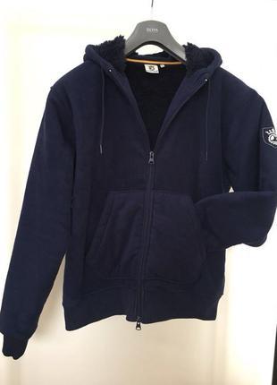Мужская куртка утепленная теплая на искусственном меху! новая!...