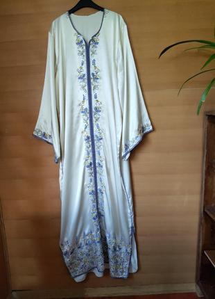 Длинное платье рубаха вышиванка