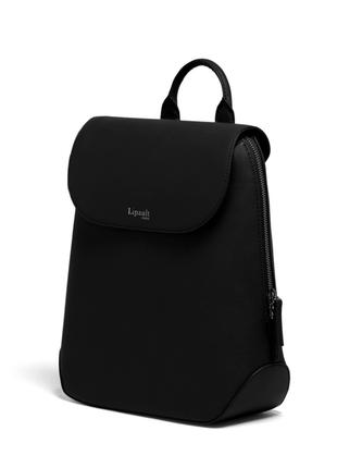 Новый кожаный рюкзак lipault чёрный