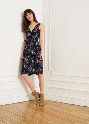 Платье цветочный принт Франция