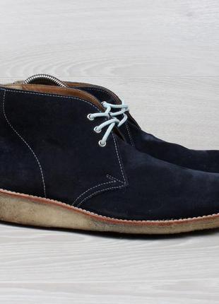 Замшевые ботинки дезерты grenson desert boots, размер 39