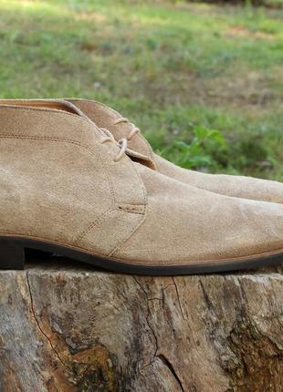 Мужские замшевые ботинки ben sherman, размер 44 / desert boots