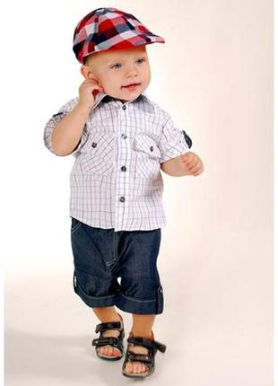 Комплект для малыша - рубашка и шорты little winners
