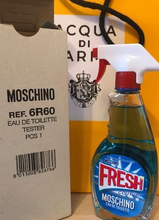 Moschino Fresh Couture туалетная вода тестер и подарок