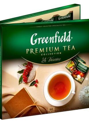 Набор чая пакетированный Greenfield Premium tea Collection 96 шт