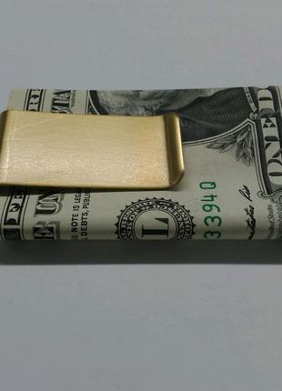 Зажим для денег и кредитных карт , для купюр, для банкнот, подаро