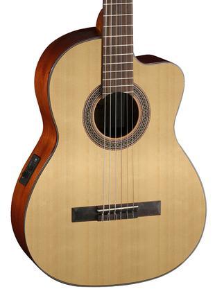Гитара. Классическая гитара Cort AC120CE +чехол.