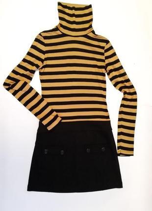 Платье теплое. stradivarius. размер s.