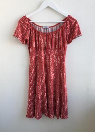 Распродажа!!! милое платье в горошек