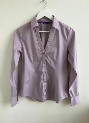 Брендовая базовая casual рубашка mexx
