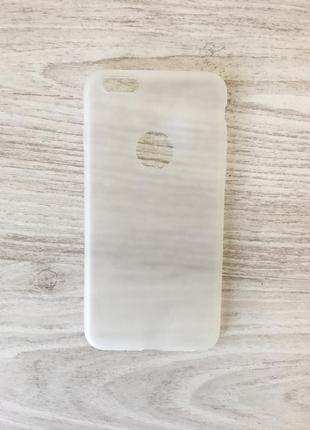 Качественный силиконовый чехол на iphone 6s plus