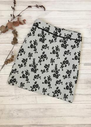 Распродажа!!! шикарная юбка в цветочный принт