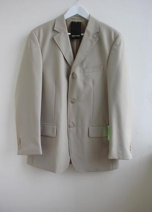 Распродажа!!! шикарный винтажный удлиненный пиджак berto lucci...