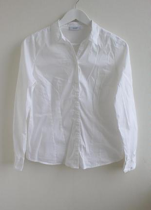 Базовая белая рубашка yessica