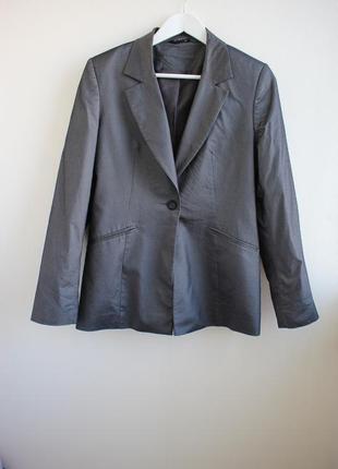 Распродажа!!! трендовый удлиненный пиджак с легким блеском george