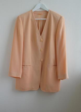 Распродажа!!!винтажный удлиненный пиджак gerry weber