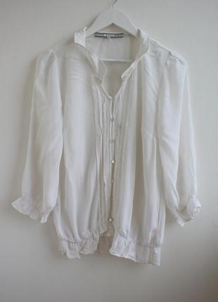 Шифоновая шикарная блуза next