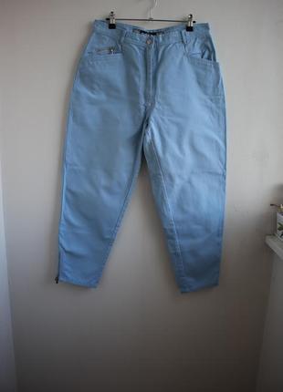Распродажа!!! шикарные укороченные джинсы, высокая посадка