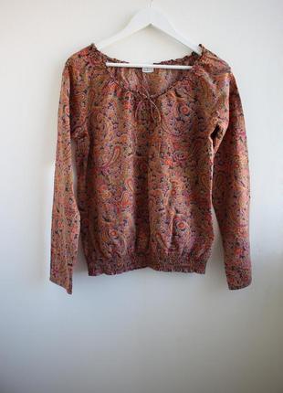 Распродажа!!! хлопковая блуза tamaris
