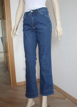 Винтажные джинсы завышеная посадка