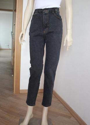 Винтажные джинсы высокая посадка