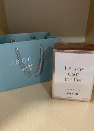 Lancome la vie est belle оригинал новый