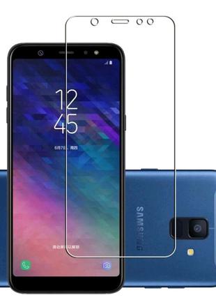 Защитное стекло на Samsung Galaxy A6 и А6+