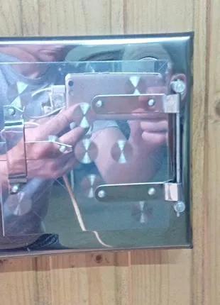 Люфт для печі / дверка для сажі 17*17см