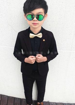 Стильне рішення для юних джентильменів 💛піджак+штани
