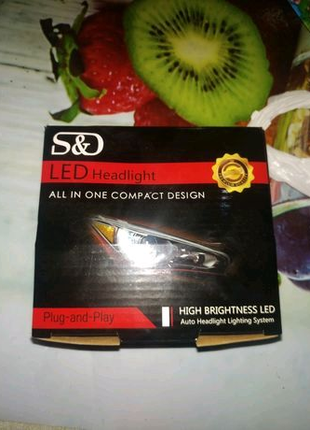 Светодиодные автомобильные фары Bulbs HB4 9006