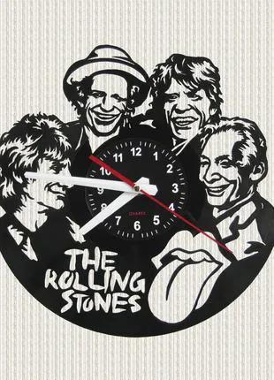 Часы из пластинки The Rolling Stones Роллинг Стоунз