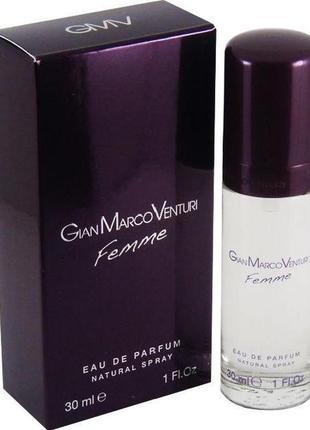 Gian marco venturi femme парфюмированная вода