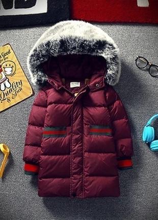 Куртка - пальто унисекс в стиле gucci
