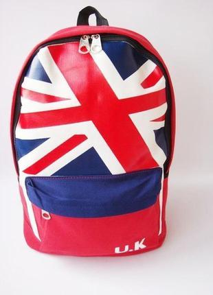 Тканевый женский рюкзак u.k.