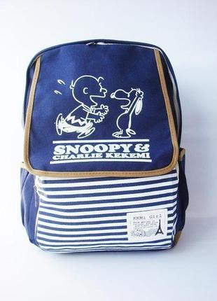 Тканевый рюкзак snoopy