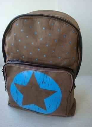 Стильный женский рюкзак star