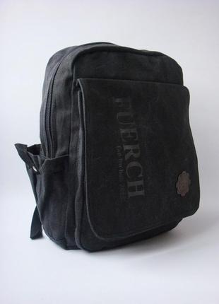 Стильный, качественный брезентовый рюкзак fuerch