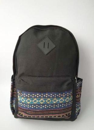 Стильный тканевый рюкзак, ornament