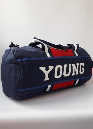 Вместительная дорожная, спортивная сумка, тканевая сумка