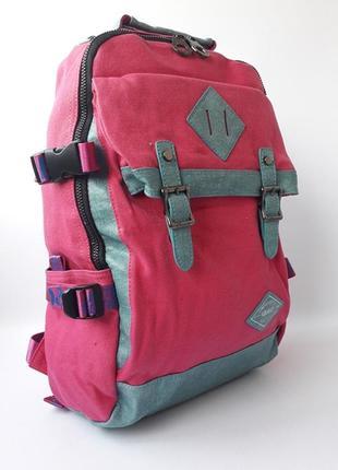 Качественный женский рюкзак, стильный тканевый рюкзак