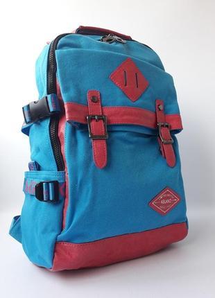 Стильный тканевый рюкзак, качественный женский рюкзак
