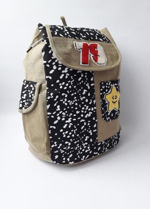 Стильный женский рюкзак, брезент