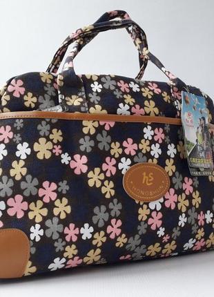 Небольшая дорожная сумка, тканевая сумка, hs, ручная кладь