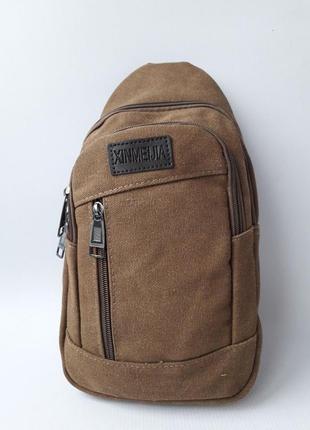 Сумка мужская, сумка слинг, сумка через плечо