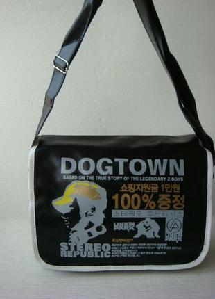 Сумка, сумка на плечо, сумка dogtown