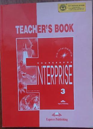 Enterprise coursebook 3 Teacher's book