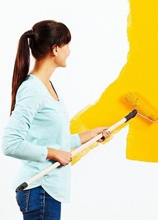 Покраска стен потолка Киев Малярные работы