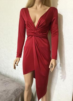 Платье вечернее коктейльное  boohoo размер 10